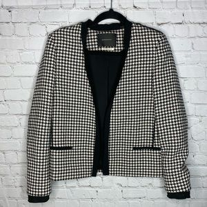 ❤️ 2/$50 Maison Scotch $198 Houndstooth Blazer